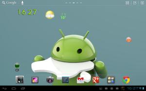 Go launcher HD un très bon launcher pour votre tablette