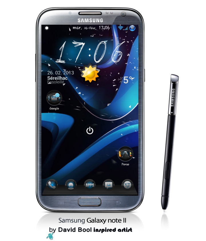 GALAXY-Note-II-Black Round