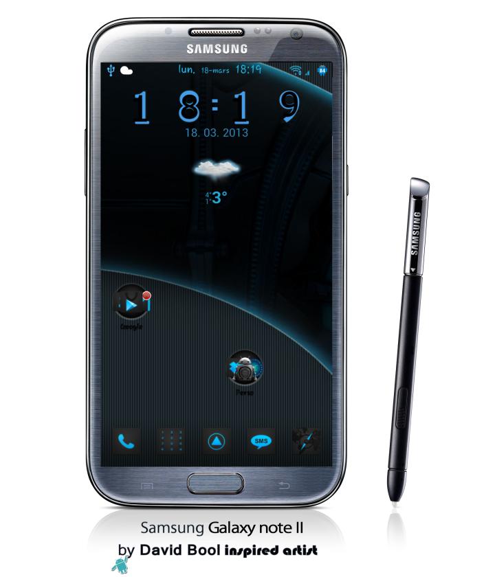 GALAXY-Note-II-blue systeme